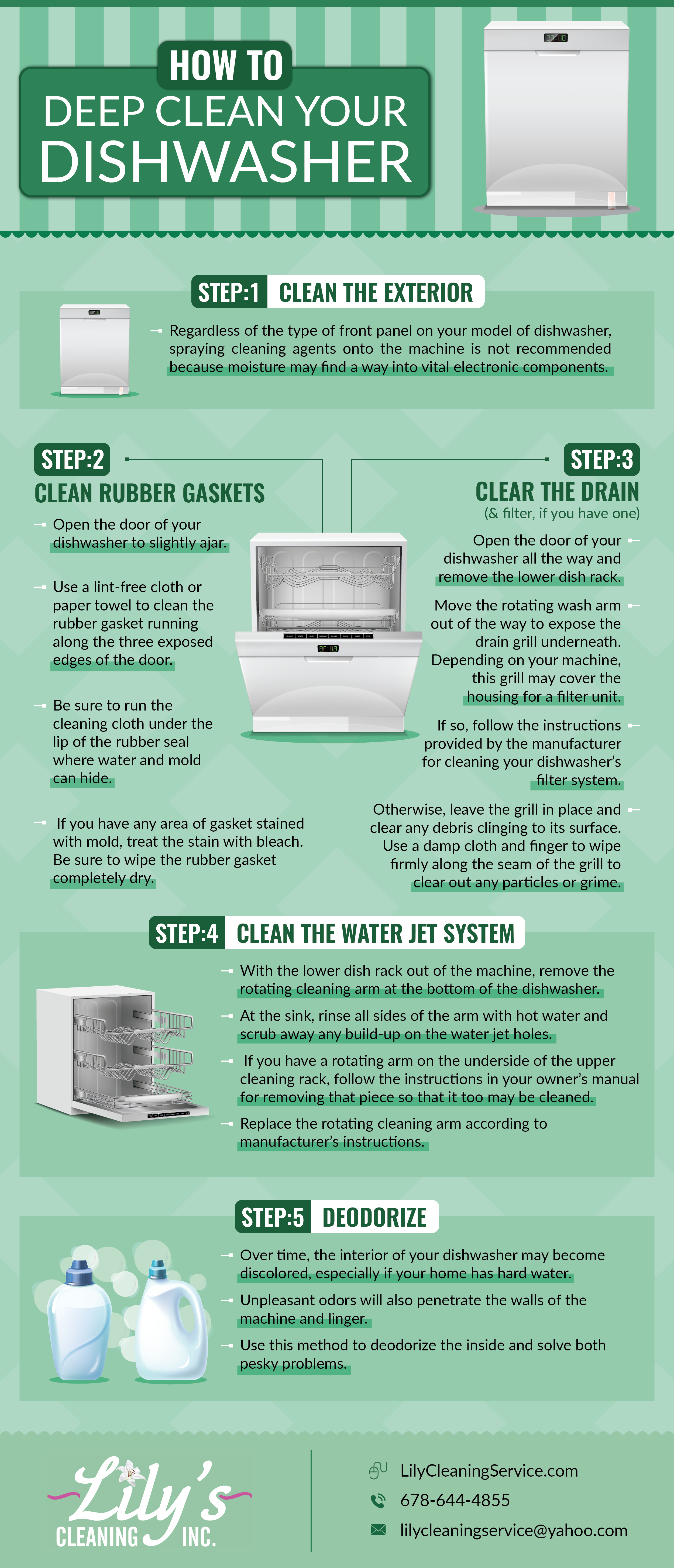 Do You Need to Clean Your Dishwasher? | Lily's Cleaning